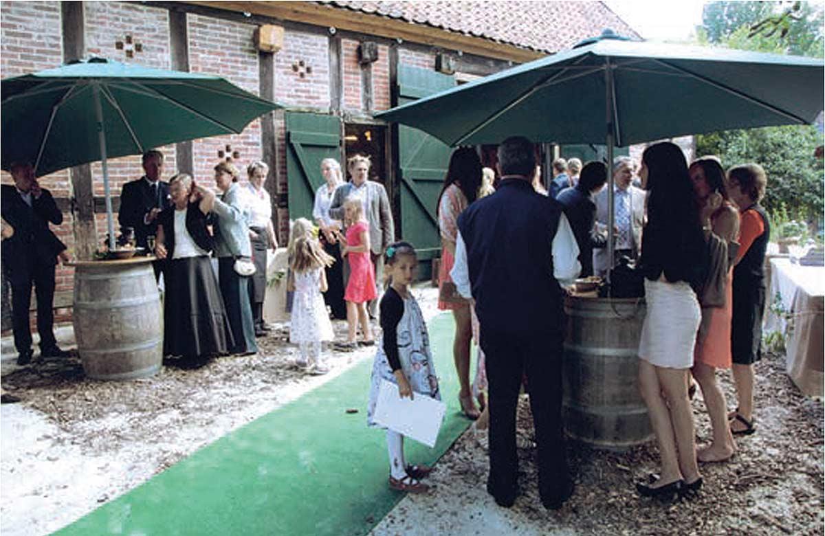Hochzeitsfeier in der Bötker'schen Scheune
