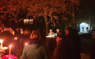 Gedenkveranstaltung zum Jahrestag der Reichspogromnacht